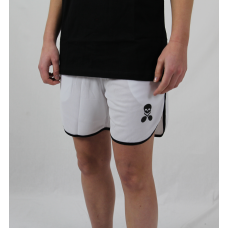 Ladies shorts Logo white