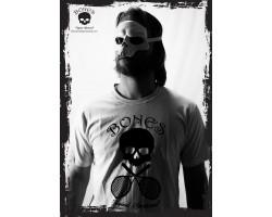 Bones t-shirt Logo skull