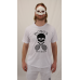 T-shirt Logo White - cotton