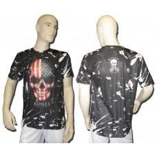 Shirt American Skull - Technodry