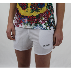 Ladies shorts white