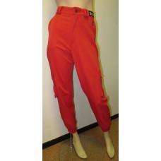 Red unisex cargo sport pants BONES