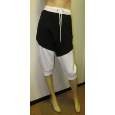 Black and white 3/4 jogging pants BONES