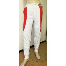 White red sweatpants BONES-unisex