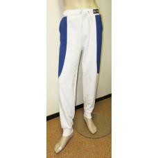 White blue sweatpants BONES-unisex